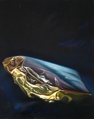 Zartbitter, 100x80cm, Öl auf Leinwand, 2017