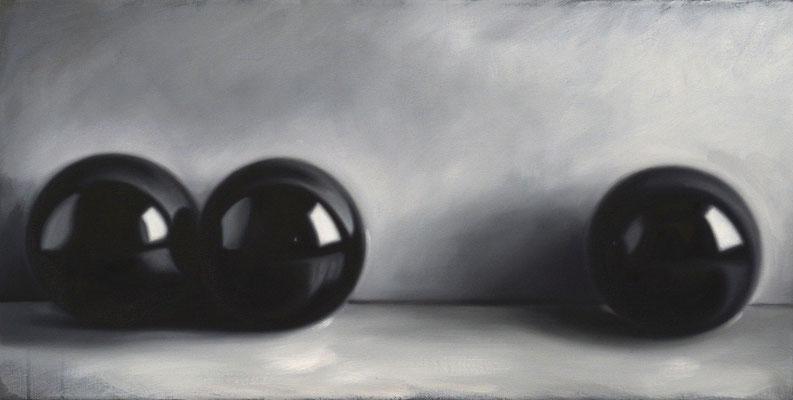 Korrelation, 46x90cm, Öl auf Leinwand, 2017