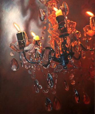 Beben, 230x190 cm, Öl auf Leinwand, 2019