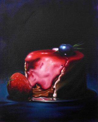 sweet III, 100x80cm, Öl auf Leinwand, 2017