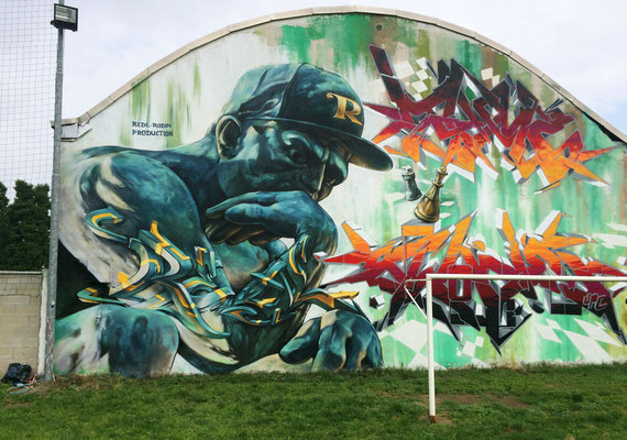 Le Penseur: Redl-Rodin Production with Awone and Tyme. Milano Italia