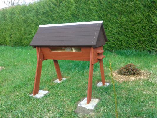 La ruche horizontale d'Olivier ( Charleville )