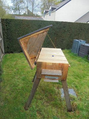 La ruche en palettes de Sylvain (35)