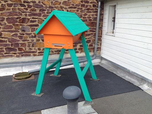 La ruche horizontale TBH de Thierry (Bretagne)