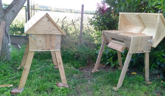 Les ruches en palettes de Daniel ( Toulouse )