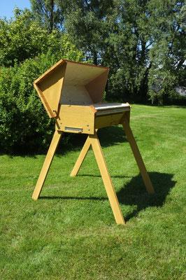 la ruche horizontale de Hervé ( Côtes d'Armor)