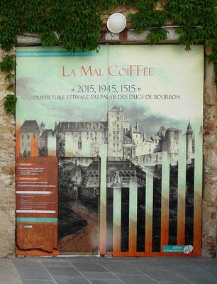 portail du château, 2015