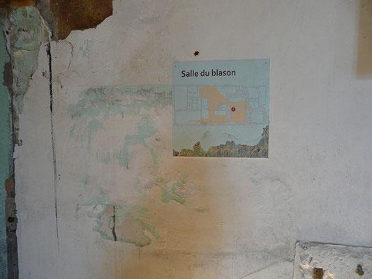 panneau de localisation en situation