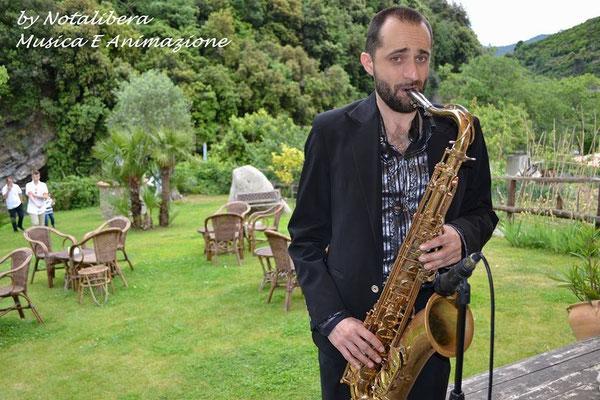 www.anywaymusica.it,matrimonio musica  provincia Imperia,Savona,Genova foto sposi sax