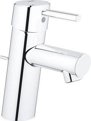 Waschtisch-Einhebelmischer mit Zugstangen-Ablaufgarnitur