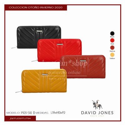 P103-510 David Jones, Precio público MX$397.50