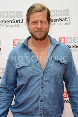 """Henning Baum bei der """"Deutsche Fiction Brunch 2013"""" der ProSiebenSat.1 TV Deutschland im Café Reitschule auf dem FILMFEST MÜNCHEN am 03. Juli 2013."""