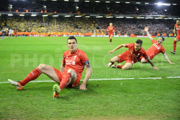 FC Liverpool - Borussia Dortmund 4:3, Europa League, Fotograf: Karsten Lauer / www.photolounge-lauer.de