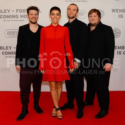 """Frida Gold bei der Filmpremiere von """"Wembley - Football Is Coming Home"""""""