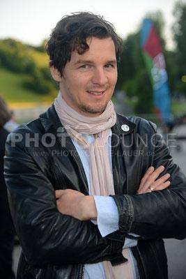 """Felix Klare; """"Peugeot-BVC-Castingnight Sommer 2013"""" (Casting-Night) am 30.06.2013 im Otto Koch's Restaurant, Olympiaturm in München."""