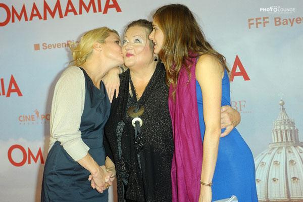 Annette Frier, Marianne Sägebrecht, Miriam Stein
