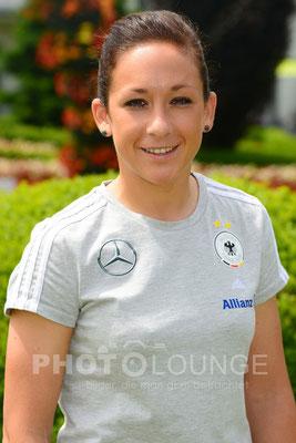 Fotoshooting DFB-Frauen: Nadine Keßler   © Karsten Lauer
