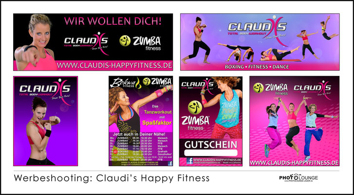 BUSINESS / © Fotograf Karsten Lauer / www.photolounge-lauer.de / Claudi's Happy Fitness