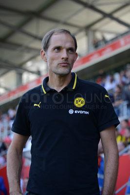 FC Ingolstadt - Borussia Dortmund // © Fotograf: Karsten Lauer