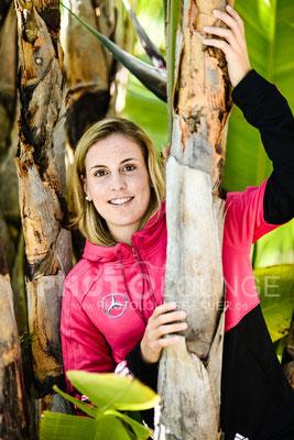 Jennifer Cramer beim Algarve Cup 2013; © Photolounge-Lauer