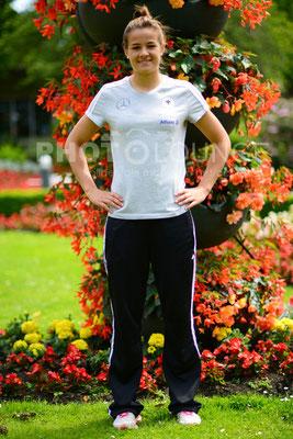 Fotoshooting DFB-Frauen: Lena Lotzen   © Karsten Lauer