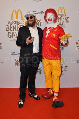 MC Fitti, Mc Donald's Benefiz Gala, 21.10.2016, Fotograf: Karsten Lauer / www.karsten-lauer.de