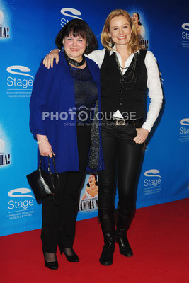 Andrea Suwa mit Mutter Anita