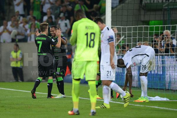 Borussia Mönchengladbach - BSC Young Boys 6:1, Fotograf Karsten Lauer