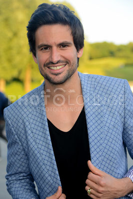 "Tom Beck; ""Peugeot-BVC-Castingnight Sommer 2013"" (Casting-Night) am 30.06.2013 im Otto Koch's Restaurant, Olympiaturm in München."