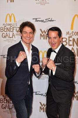 Matze Knopf und Gregor Glanz, Mc Donald's Benefiz Gala, 21.10.2016, Fotograf: Karsten Lauer / www.karsten-lauer.de