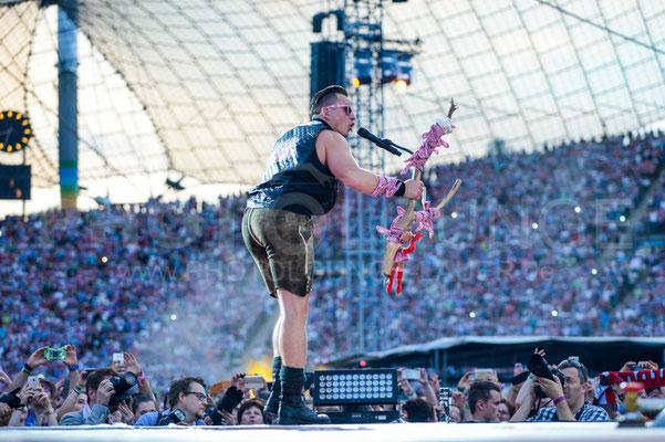 Andreas Gabalier im Olympiastadion München, Fotograf: Karsten Lauer
