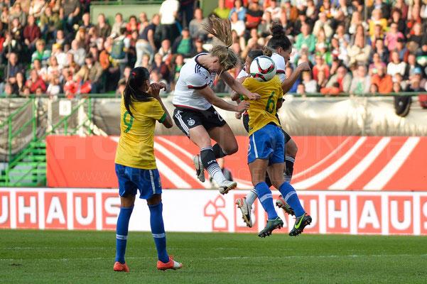 Tabea Kemme - Deutschland vs Brasilien 4:0 - Fotograf Karsten Lauer / www.photolounge-lauer.de