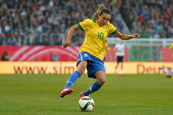 Marta - Deutschland vs Brasilien 4:0 - Fotograf Karsten Lauer / www.photolounge-lauer.de