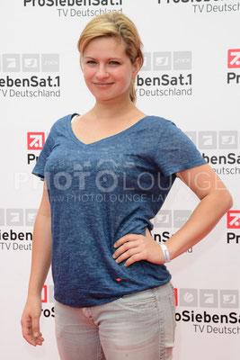 """osephine Schmidt bei der """"Deutsche Fiction Brunch 2013"""" der ProSiebenSat.1 TV Deutschland im Café Reitschule auf dem FILMFEST MÜNCHEN am 03. Juli 2013."""