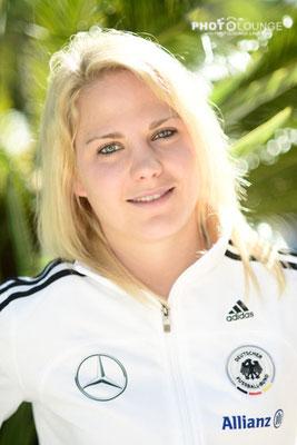 Leonie Maier beim Algarve Cup 2013; © Photolounge-Lauer
