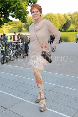 """Viktoria Brams; """"Peugeot-BVC-Castingnight Sommer 2013"""" (Casting-Night) am 30.06.2013 im Otto Koch's Restaurant, Olympiaturm in München."""