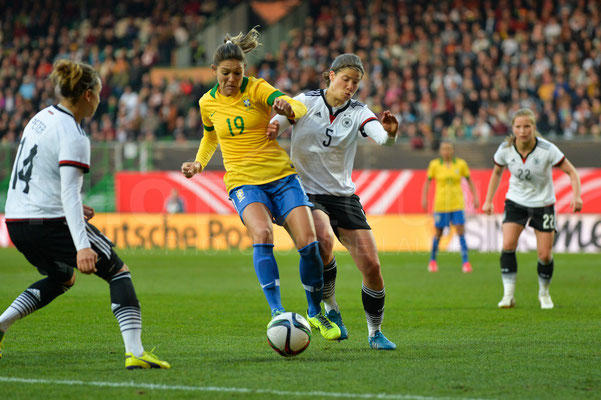 Gabriela - Deutschland vs Brasilien 4:0 - Fotograf Karsten Lauer / www.photolounge-lauer.de