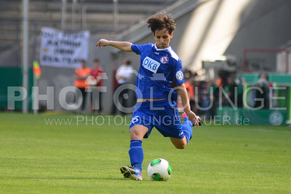 DFB Pokal Finale der Frauen 2013; VfL Wolfsburg gegen Turbine Potsdam, © Karsten Lauer