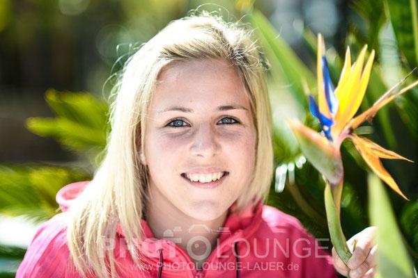 Svenja Huth beim Algarve Cup 2013; © Photolounge-Lauer
