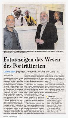 2016. Fotoausstellung von Siegfried KRAUSE und Patrick RIANCHO
