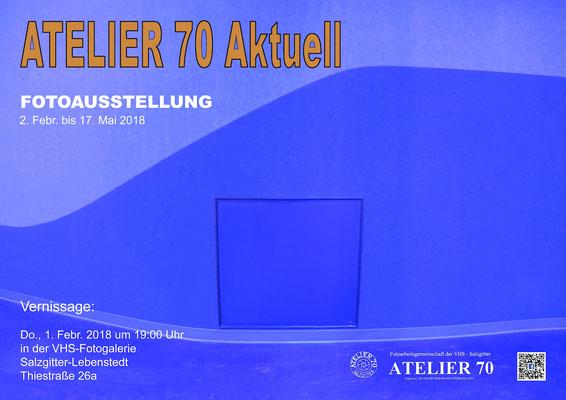 2018. Fotoausstellung von Atelier 70