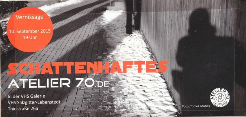 2015. Fotoausstellung von Atelier 70