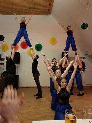 Auftritt der Cool Dancers