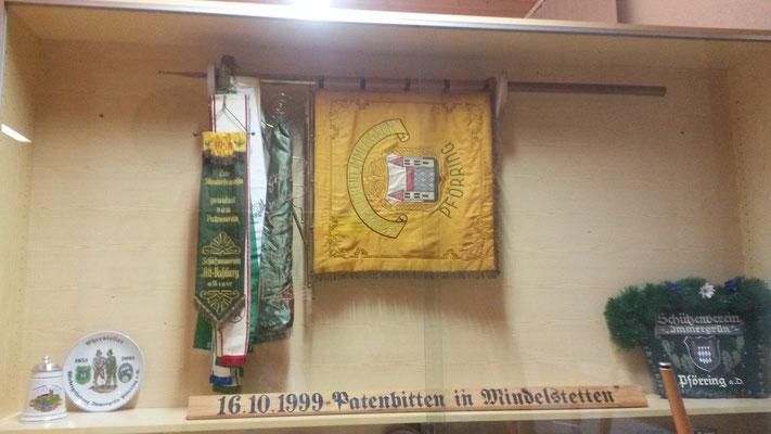 """Fahne des Patenvereins  """"Schützenverein Alt-Vohburg"""""""