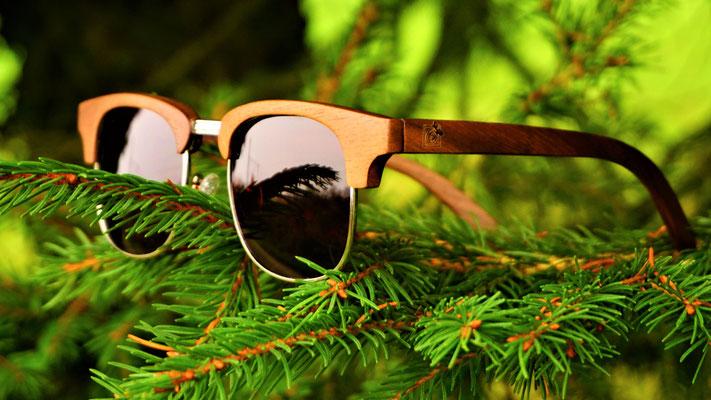 Sonnenbrille aus Walnussholz Bridge Walnut