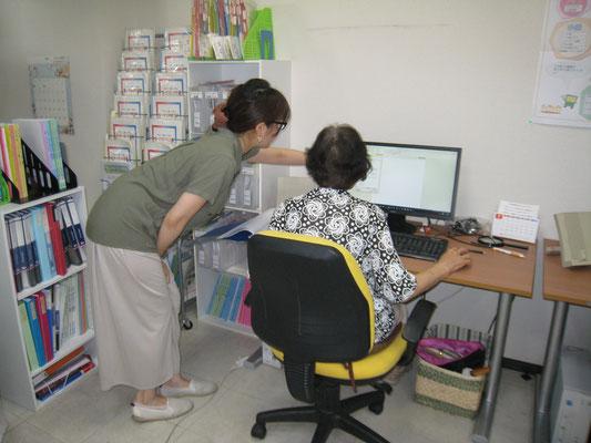 ワンステップパソコン教室のレッスン風景