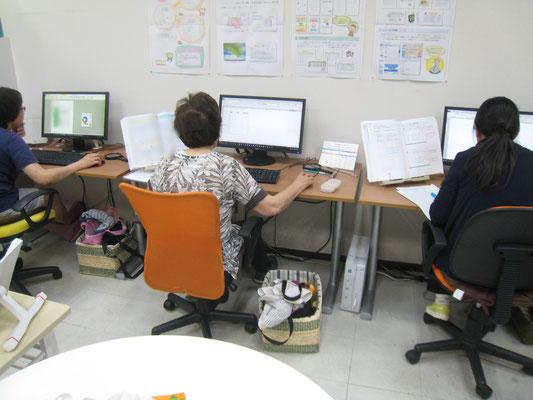 ワンステップパソコン教室でエクセルを学ばれています