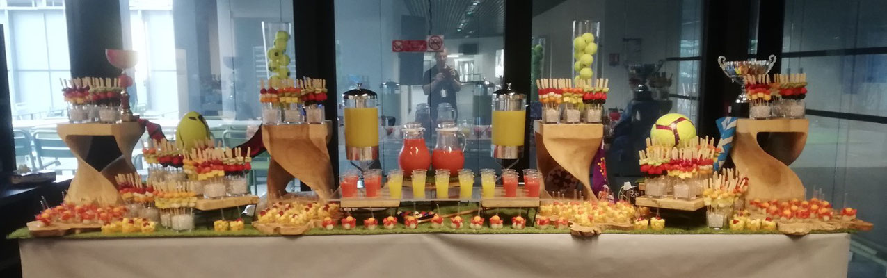Buffet de fruit et jus de fruits Stelia Aérospace Toulouse