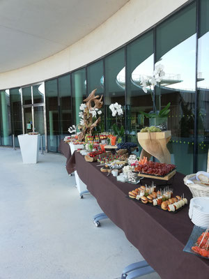 Buffet de fruits et légumes Oncopole Toulouse