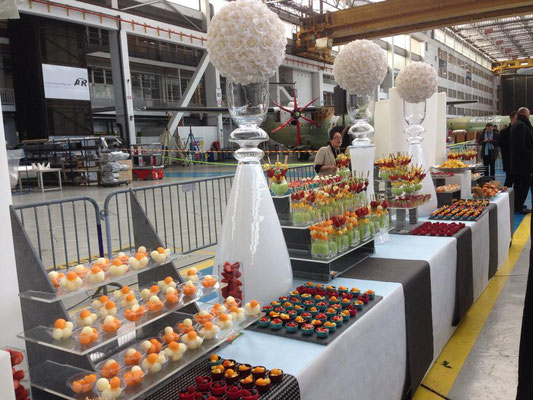 Buffet de fruits pour ATR Toulouse-Blagnac